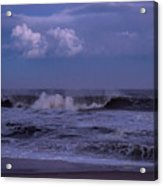 Cloud And Wave Seaside New Jersey Acrylic Print
