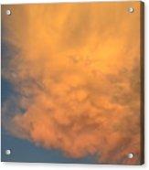Cloud At Sunset Acrylic Print