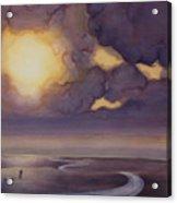 Cloud Break On The Northern Plains II Acrylic Print