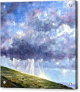 Cloud Burst Ireland Acrylic Print