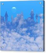 Cloud Castle Acrylic Print