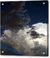 Cloud Collide Acrylic Print