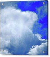Cloud Commotion Acrylic Print