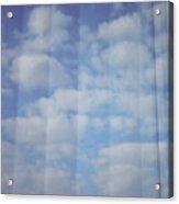 Cloud Curtain Acrylic Print