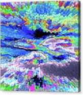 Cloud Energy Acrylic Print