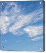 Cloud Faces Acrylic Print