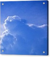 Cloud Figures Acrylic Print