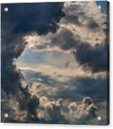 Cloud Formations Boiling Up Acrylic Print