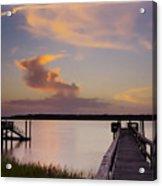 Cloud Forms Acrylic Print