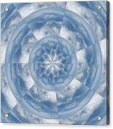 Cloud Fractal Acrylic Print