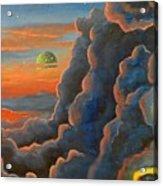 Cloud Gods Acrylic Print