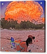 Cloud Lighted By Internal Lightnings 6211168 Acrylic Print