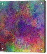 Cloud Mandala Acrylic Print