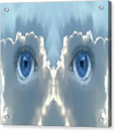 Cloud Mask Acrylic Print