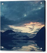 Cloud Mountain Reflection Acrylic Print