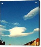 Cloud Acrylic Print by Niki Mastromonaco