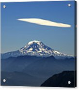 Cloud Over Adams Acrylic Print