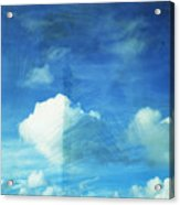Cloud Painting Acrylic Print