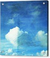 Cloud Painting Acrylic Print