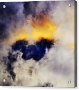Cloud Sculping Acrylic Print