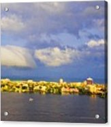Cloud Shelf  Acrylic Print