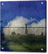 Cloud Silo Acrylic Print