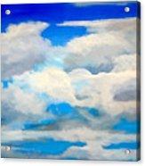 Cloud Study Acrylic Print