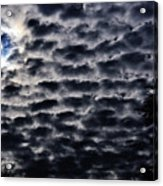 Cloud Tiles Acrylic Print