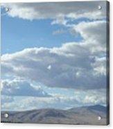 Cloudbreaks Over Rattlesnake Acrylic Print