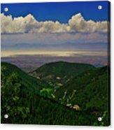 Cloudcroft Canyon View Acrylic Print