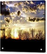 Clouded Eve Acrylic Print