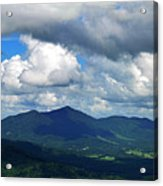 Clouded Landscape Acrylic Print