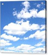 Clouded Sky Acrylic Print
