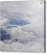 Clouding In Acrylic Print