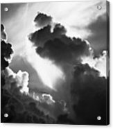 Clouds-1- St Lucia Acrylic Print