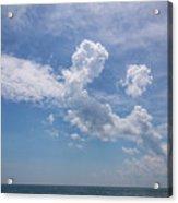 Clouds 2017-1 Acrylic Print