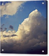 Clouds-3 Acrylic Print