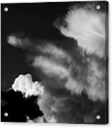 Clouds-4- St Lucia Acrylic Print