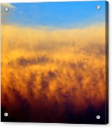 Clouds Ablaze Acrylic Print by Marty Koch