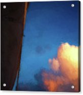 Clouds And Sails Acrylic Print