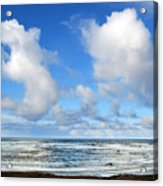 Clouds At Play Acrylic Print