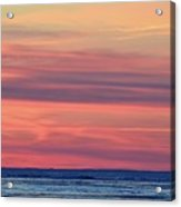 Clouds At Sunrise Two  Acrylic Print