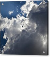 Clouds Before A Thunderstorm Acrylic Print