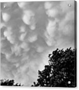 Clouds Before The Storm Acrylic Print