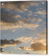 Clouds Acrylic Print by Hasani Blue