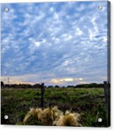 Clouds Illusions Acrylic Print