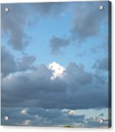 Clouds In A Bright Sky Acrylic Print