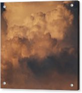 Clouds In Color Acrylic Print