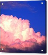 Clouds in Mystical Sky Acrylic Print