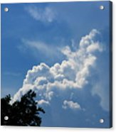 Clouds Of Art Acrylic Print